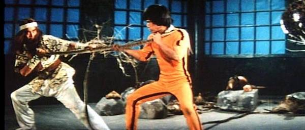 Bruce Le in Enter The Game Of Death