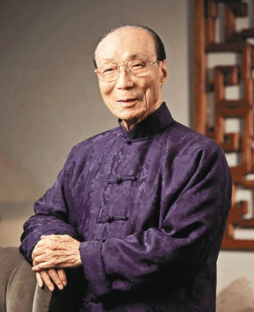 Run Run Shaw, chairman of Television Broadcasts Ltd. (TVB) and chairman of the Shaw Brothers Hong Kong Ltd., poses in an undated portrait released to the media in Hong Kong, China, on Friday, Sept. 27, 2007. Shaw will turn 100 years old on Oct. 4. Source: Shaw Prize Foundation via Bloomberg News